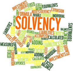 Word cloud for Solvency