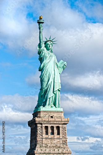 The Statue of Liberty, New York City. USA.