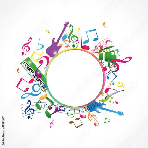 musique avec rond central