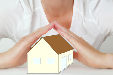 Hands protect home