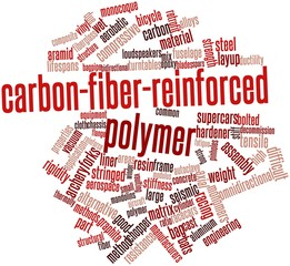 Word cloud for Carbon-fiber-reinforced polymer