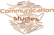 Word cloud for Communication studies