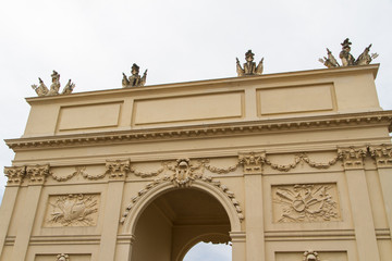 Brandenburg Gate from Potsdam, Berlin, Germany