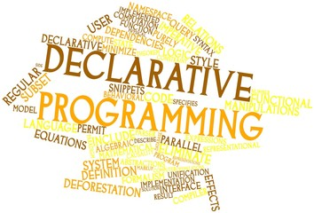 Word cloud for Declarative programming