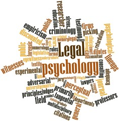 Word cloud for Legal psychology