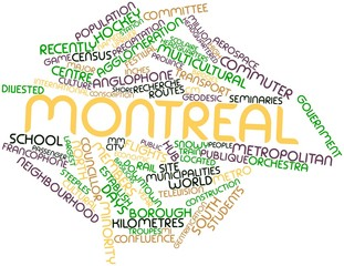 Word cloud for Montreal