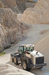 miniera di pietra calcarea