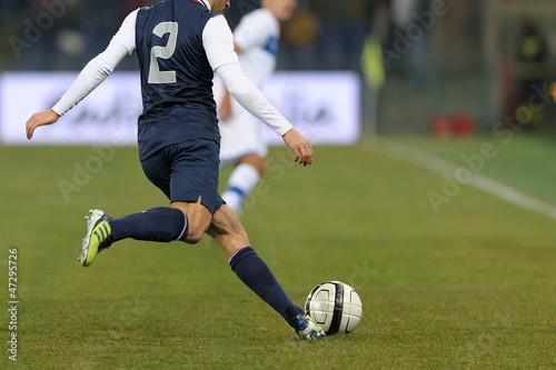 canvas print picture Calcio