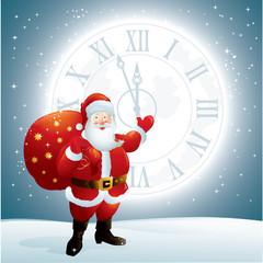 Santa Claus & New Year Time