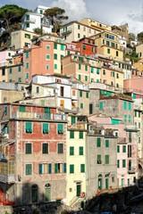 Riomaggiore, le case colorate