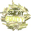 Word cloud for Sweat equity