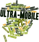 Word cloud for Ultra-mobile PC