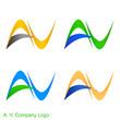 A. V. Company Logo