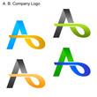 A. B. Company Logo