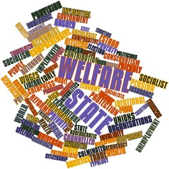 Word cloud for Welfare state