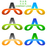 D. A. B. and  A. D. B. Company Logo