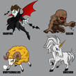 Mythical Creatures Set 06
