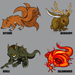 Mythical Creatures Set 05