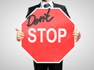 dont stop sign