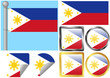 Flag Set Philippines
