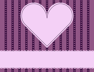 Valentines Day Background with Copy Space