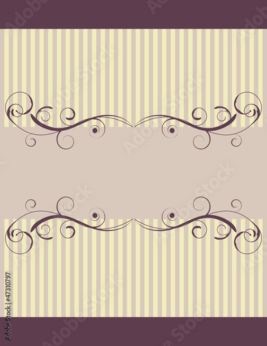 Vintage Background with Room for Your Text