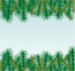 Christmas fir-tree Borders