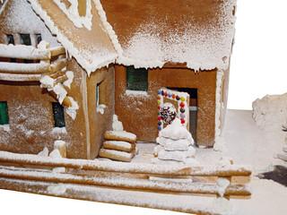 lebkuchenhaus ohne dekoration