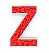 Red letter Z