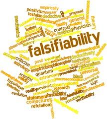 Word cloud for Falsifiability