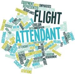 Word cloud for Flight attendant