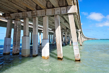 Bahia Honda Bridge, Florida Keys, Florida, USA