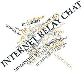 Word cloud for Internet Relay Chat