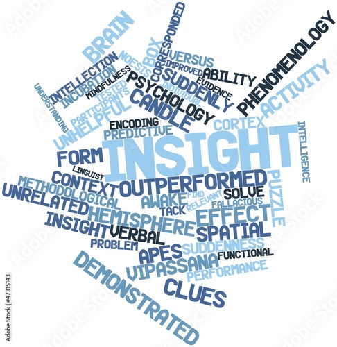 Word cloud for Insight