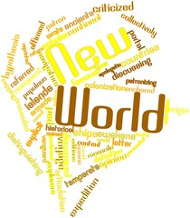 Word cloud for New World
