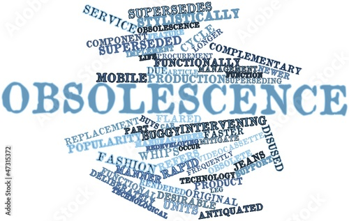 Word cloud for Obsolescence
