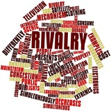 Word cloud for Rivalry poster