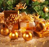 Fototapety New Year gifts