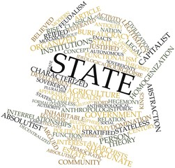 Word cloud for State