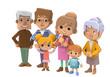 3D - Six families01