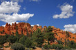 Rare rock formations of Bryce Canyon National park