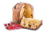 Fototapety Panetone, dulce de Navidad