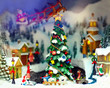 toy christmas town - 47318927