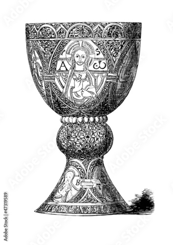 Medieval Ciborium - Ciboire - ca. 10th century