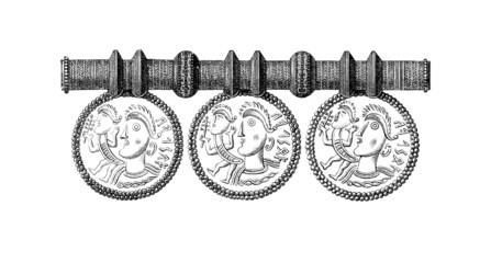 Nordic-Germanic Runic Jewel - 12th century