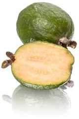 Two feijoa