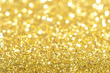 Holiday yellow shiny background