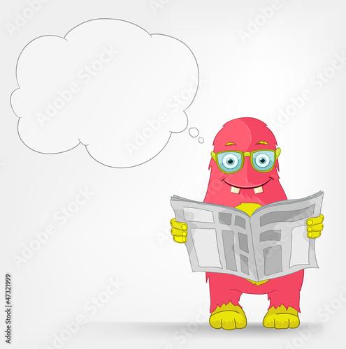 Funny Monster. News.