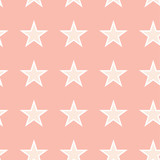 vector illustration of star pattern, pink background