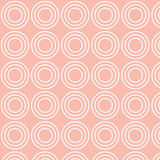 vector illustration of circle pattern, pink background